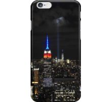 New York 9/11 Tribute from Top of the Rock, September 11th 2015 iPhone Case/Skin