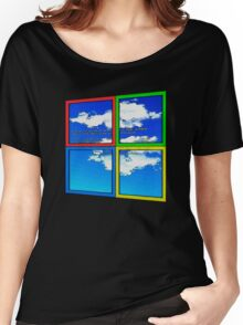 Blue Sky of Death Women's Relaxed Fit T-Shirt