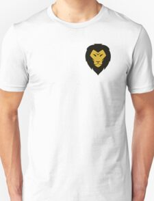 Lion Head Illustration Unisex T-Shirt