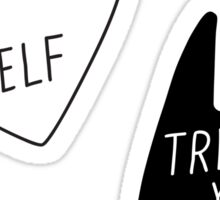Treat Yo Self | Sticker Pack Sticker