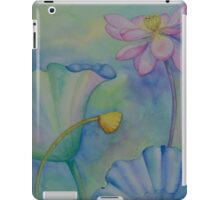 Lotus. Right part for diptych design iPad Case/Skin