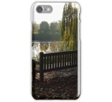 Winter Sunshine over the River Aire iPhone Case/Skin