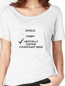 Friends - Dating Chandler Bing Women's Relaxed Fit T-Shirt