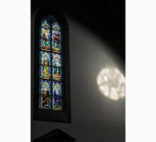 Lights and Colors - Stained Glass Church Window Unisex T-Shirt