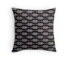 ethnic psychedelic Throw Pillow