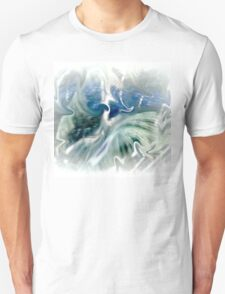 Blues and Greens Abstract..... Unisex T-Shirt