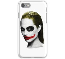 Angelina Jolie the Joker iPhone Case/Skin