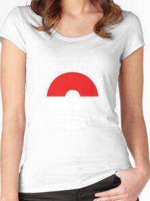 Summer Good pokemon Women's Fitted Scoop T-Shirt