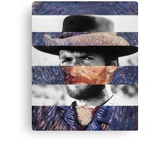 Van Eastwood Canvas Print