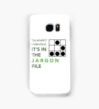 It's In The Jargon File Samsung Galaxy Case/Skin