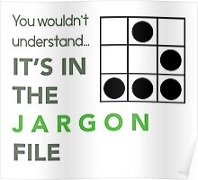 It's In The Jargon File Poster