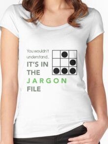 It's In The Jargon File Women's Fitted Scoop T-Shirt
