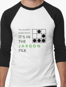 It's In The Jargon File Men's Baseball ¾ T-Shirt