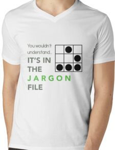 It's In The Jargon File Mens V-Neck T-Shirt
