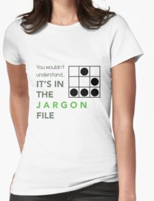 It's In The Jargon File Womens Fitted T-Shirt