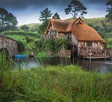 Hobbiton New Zealand 2 by Margaret Metcalfe