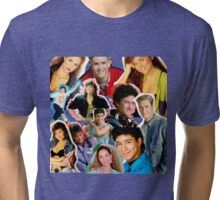 Saved by the bell collage Tri-blend T-Shirt