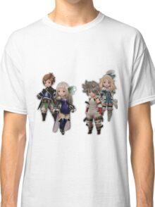 Bravely Second - Yew, Magnolia, Edea, Tiz Classic T-Shirt