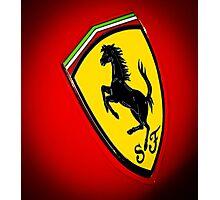 Il Cavallino Ferrari Photographic Print