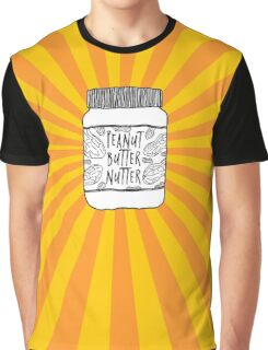 Peanut Butter Nutter Graphic T-Shirt