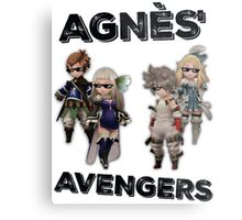Bravely Second - Agnès' Avengers (Thug ver.) Metal Print