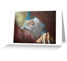 Merlin'ambition Greeting Card