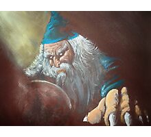 Merlin'ambition Photographic Print