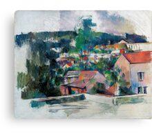 1880 - Paul Cezanne - Landscape Canvas Print