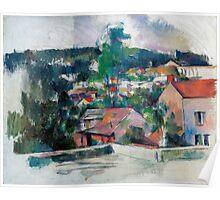 1880 - Paul Cezanne - Landscape Poster