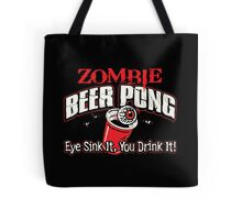 zombie pong Tote Bag