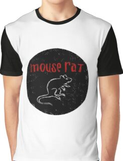 Mouse Rat Graphic T-Shirt