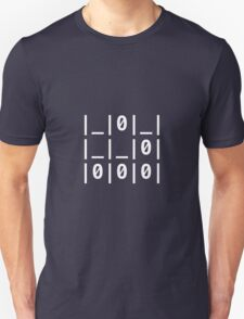 "The Glider Text: ""A Universal Hacker Emblem"" - Jargon File Unisex T-Shirt"
