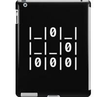 "The Glider Text: ""A Universal Hacker Emblem"" - Jargon File iPad Case/Skin"