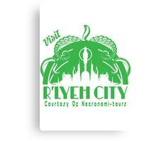 Visit R'lyeh City Canvas Print