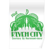 Visit R'lyeh City Poster
