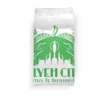 Visit R'lyeh City Duvet Cover