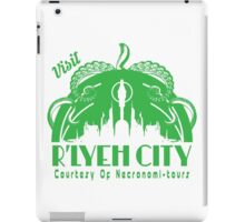 Visit R'lyeh City iPad Case/Skin