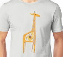 Ange the pregnant giraffe Unisex T-Shirt