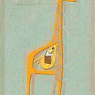 Ange the pregnant giraffe by Zsuzsa Goodyer