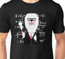 English Sheepdog as Einstein Unisex T-Shirt