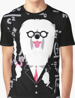 English Sheepdog as Einstein Graphic T-Shirt