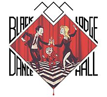 Black Lodge Dance Hall Photographic Print