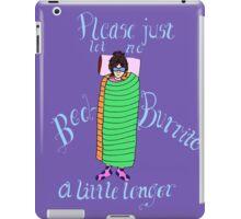 Bed Burrito iPad Case/Skin