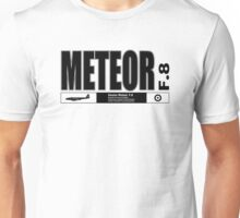 Meteor Jet Fighter Unisex T-Shirt