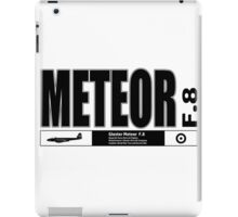 Meteor Jet Fighter iPad Case/Skin