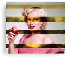 "Leonardo's ""Gioconda + Marylin Monroe Canvas Print"