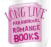 LONG LIVE PARANORMAL romance Poster