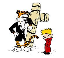 Calvin & Hobbes - StackedImages Photographic Print