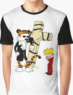 Calvin & Hobbes - StackedImages Graphic T-Shirt