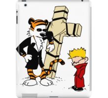 Calvin & Hobbes - StackedImages iPad Case/Skin